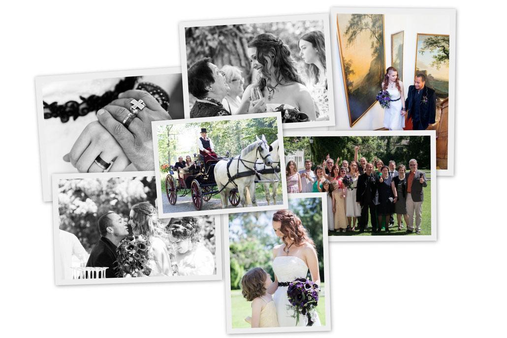 Hochzeitsfotos in meinem Look