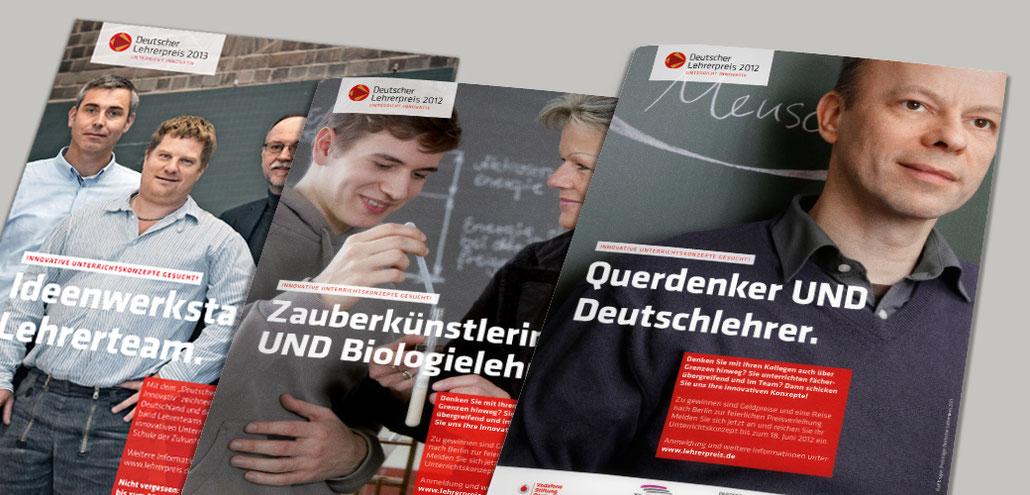 Cover Pädagogenmaterial Deutscher Lehrerpreis