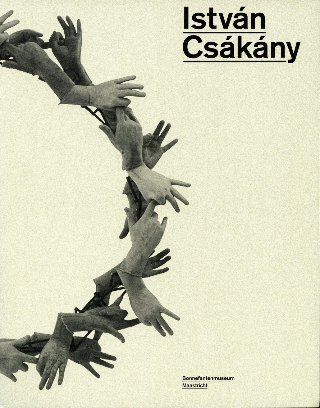 Istvan Csakany Buch Book about the Hungarian Contemporary Artist