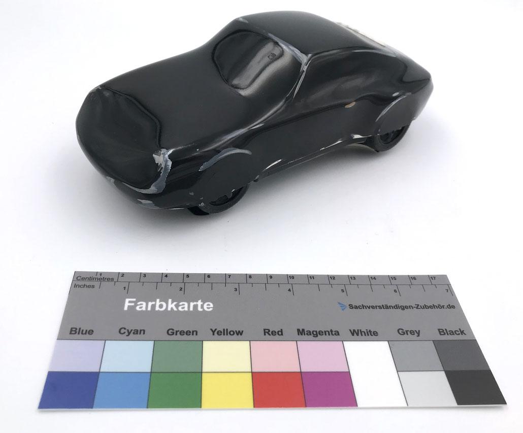 Porsche Modellauto vom Künstler Gottfried Bechtold - Edition von 2009