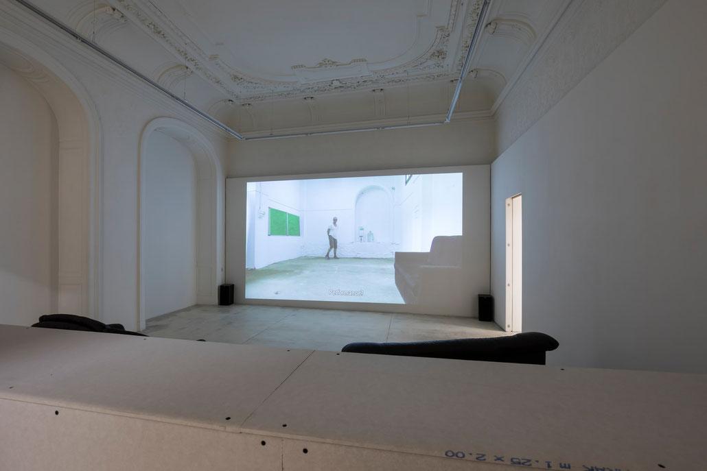 Erik van Lieshout Ausstellung exhibition 2019 Galerie Krinzinger Wien - Video
