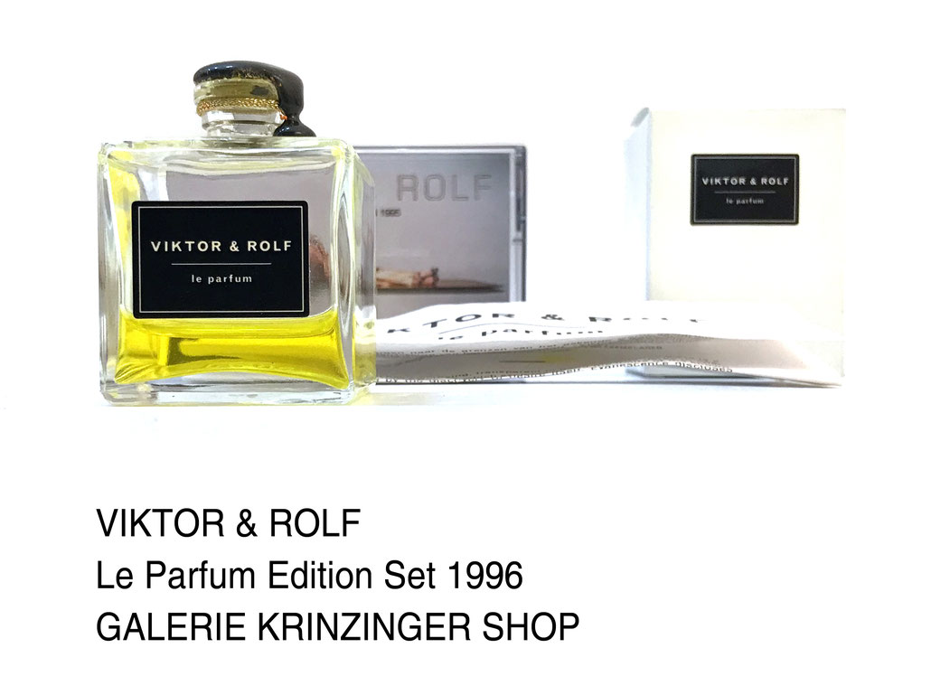 viktor & rolf le parfum edition 1996 set art multiple by viktor rolf