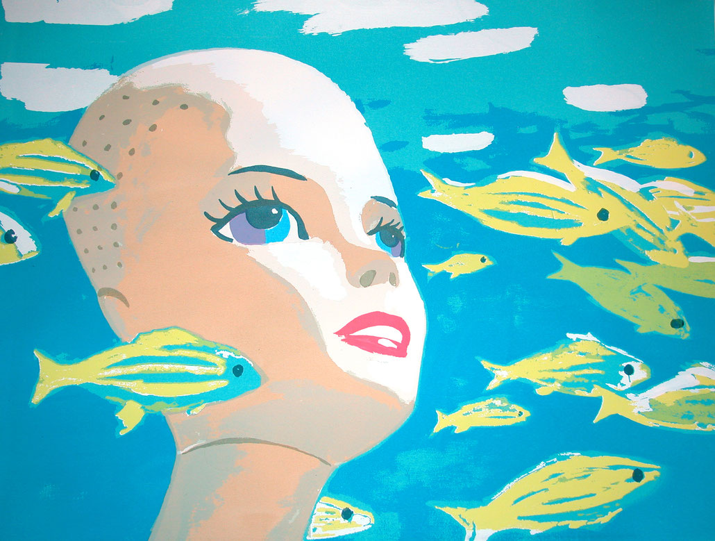 Dubossarsky & Vinogradov art print edition Babe, 2004.