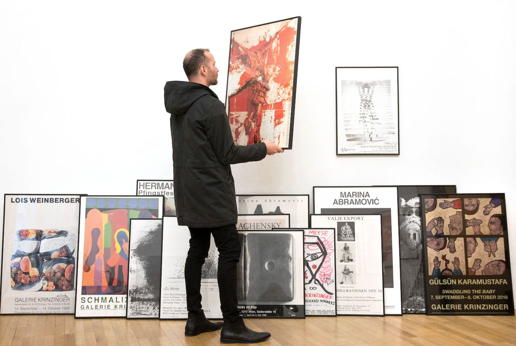Posters from our POSTERS SHOP in Vienna - Galerie Krinzinger Online Shop.
