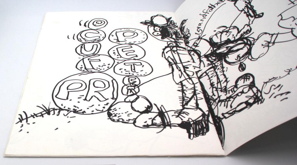 artist book by the Us artist Paul McCarthy