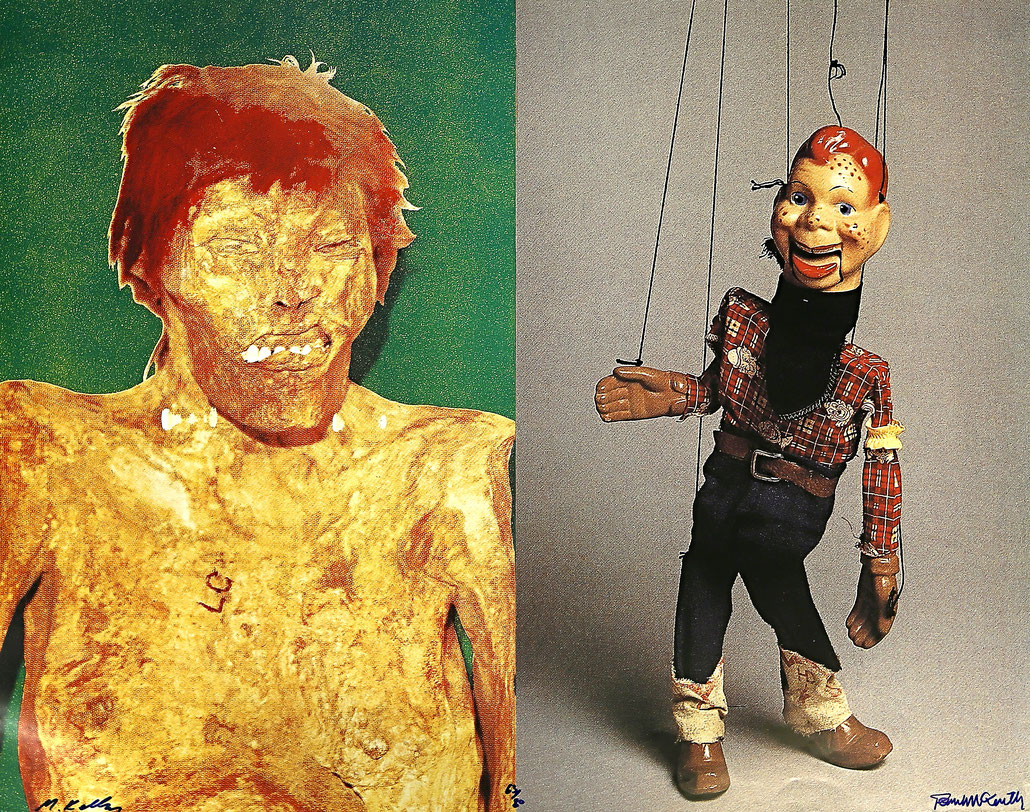 Paul McCarthy Edition and Mike Kelley Edition Redheads (Buffalo Bob)