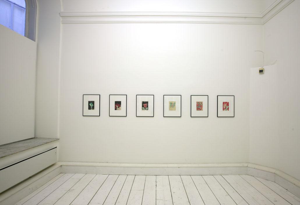 Bernhard Blume Kunst Ausstellung in der Galerie Krinzinger Wien 2011.