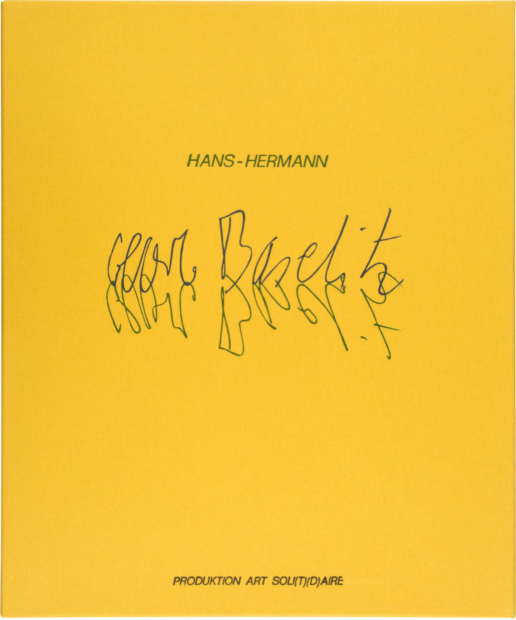 Georg Baselitz kaufen Edition Imperia Suite 2005 mit Hans Hermann Edition ART SOLI(T)(D)AIRE