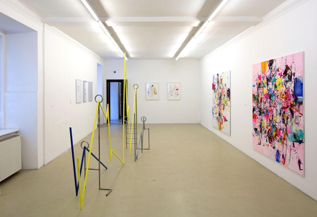 Stefanie de Vos Ausstellung Kunst art by the Belgian artist Stephanie Devos