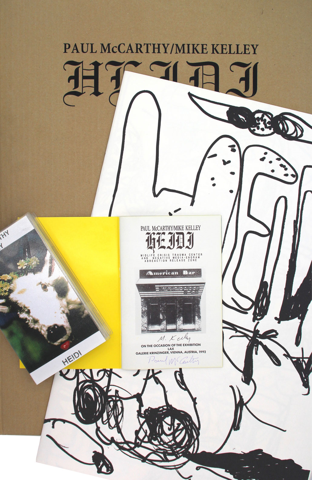 Paul mcCarthy and Mike Kelly Editio Set art multiple and print