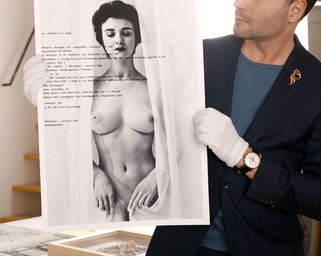 Eva Schlegel kaufen Kunst Edition Nude (Salzburger Festspiele)
