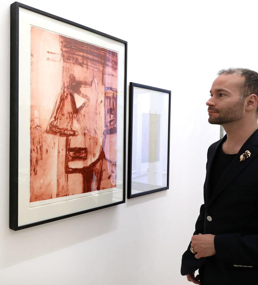 Hubert Schnmalix Kunst Edition art print Jesus Christus
