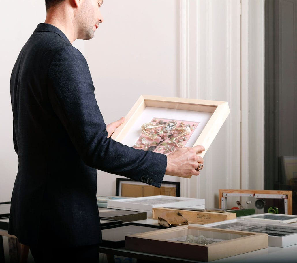 Daniel Spoerri kaufen Sie ein Kunstwerk Original
