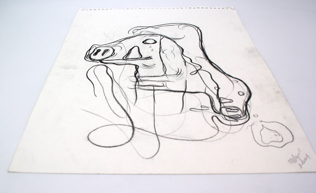 Bjarne Melgaard art Kunst im Galerie Shop - original Meelgard