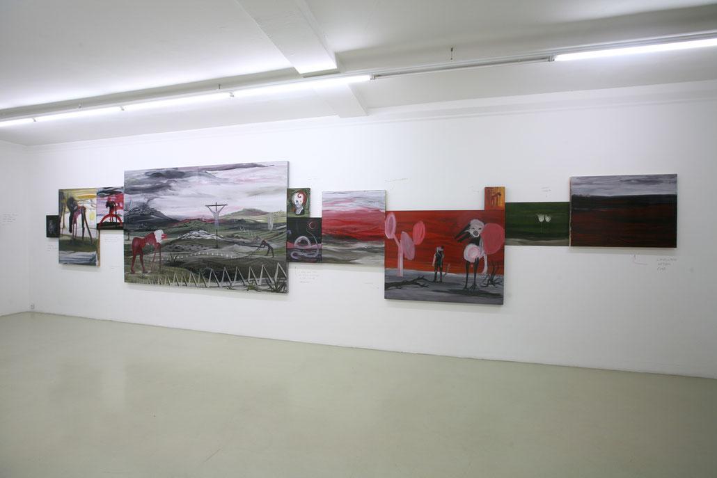 Eliezer Sonnenschein exhibition in Vienna Ausstellung