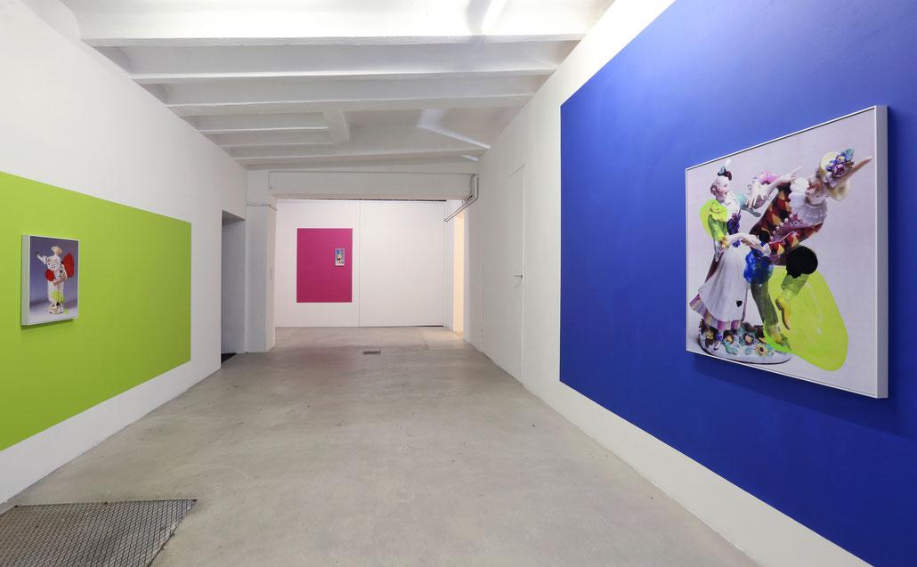 Kunst von Hanakam und Schuller (Hanakam&Schuller) bei GalerieKrinzinger Projekte in der Schottenfeldgasse 45.