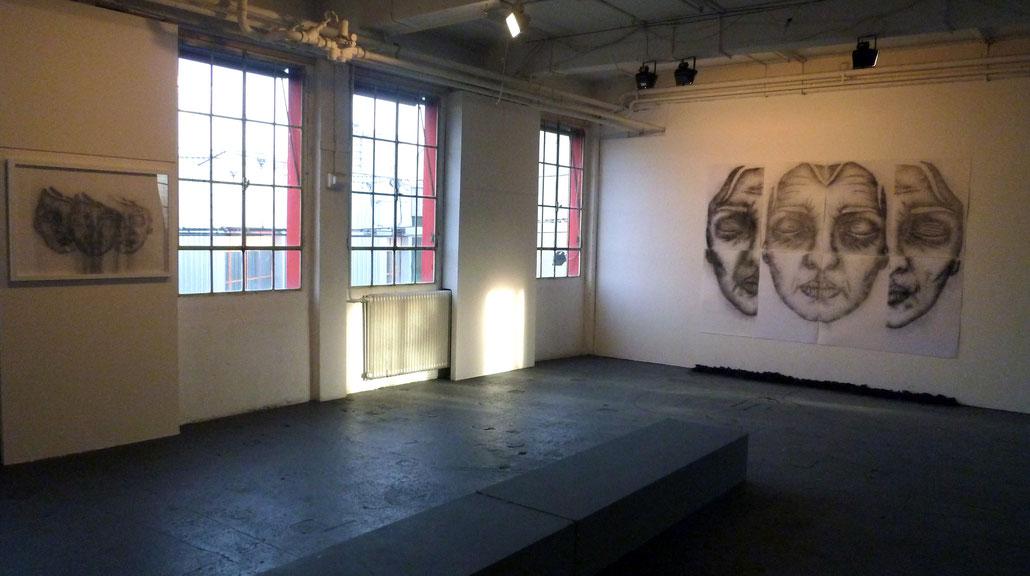"""Cheminée Nord-Usines Kugler, """"Trans-Au delà de la peau"""", 2013"""