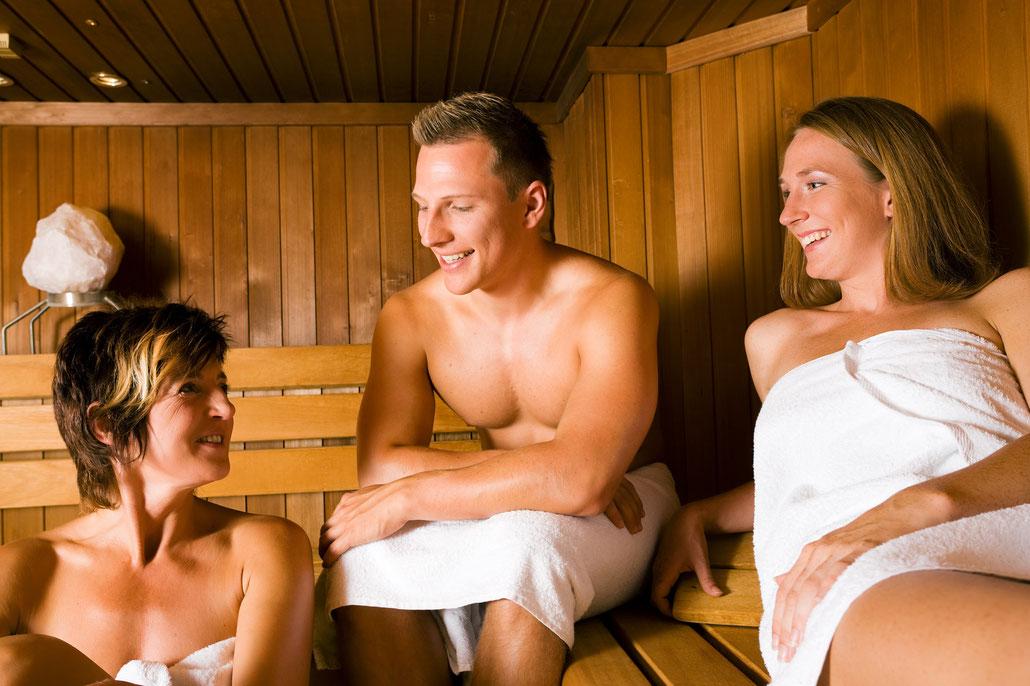 Sauna im Vitalis Zentrum Rostock