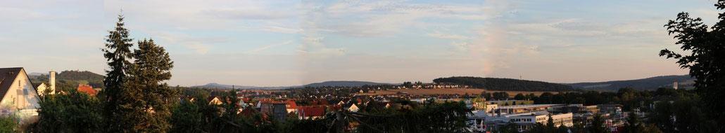 Panorama-Aussicht - Abends - Atelier Silvennoinen
