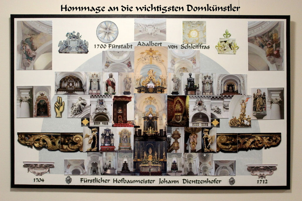 Barock-Dom Fulda Johann Dientzenhofer Domkuenstler Bischofsitz Bonifatiusgruft