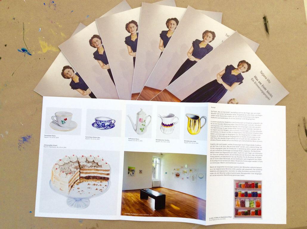 Broschüre, Professionalisierung für Künstler, Kunstdokumentation