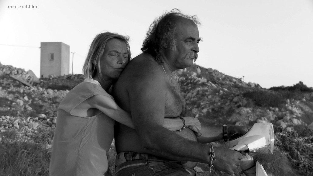 Peter Schreiner echtzeitfilm LAMPEDUSA Giuliana Pachner Pasquale De Rubeis   austrian film