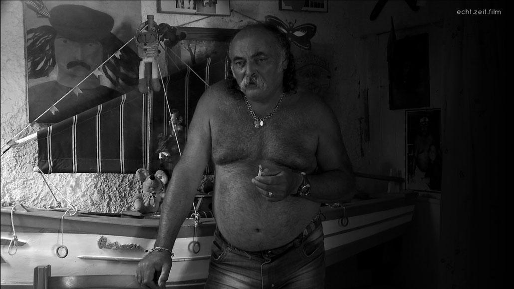 Peter Schreiner echtzeitfilm LAMPEDUSA Pasquale De Rubeis   austrian film