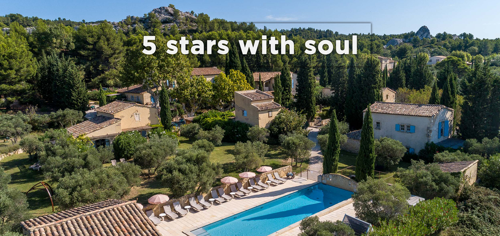 Hameau des baux, a five-star hotel with soul, in the south of France