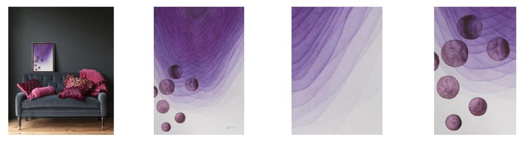 minimalism, watercolor painting, warerblog, minimalista, watercolor, decor, акварель, художник Ольга Дрозд, Olga Drozd, искусство в интерьере, купить картину, art for sale
