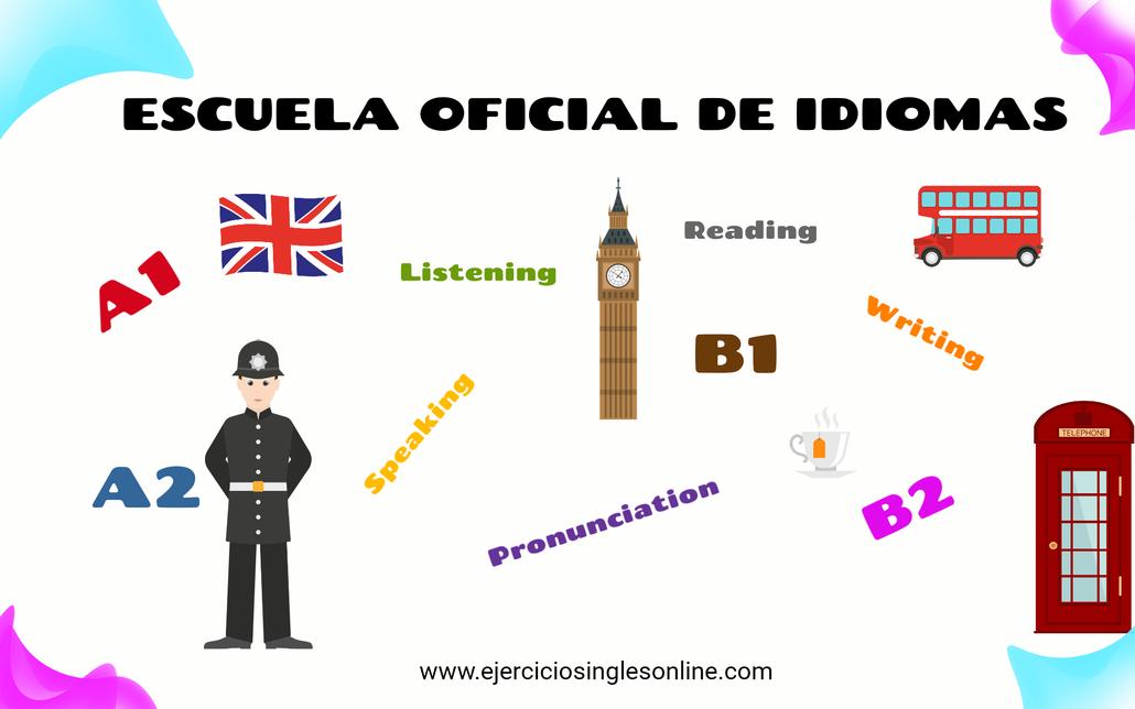 Ejercicios Escuela Oficial de Idiomas.