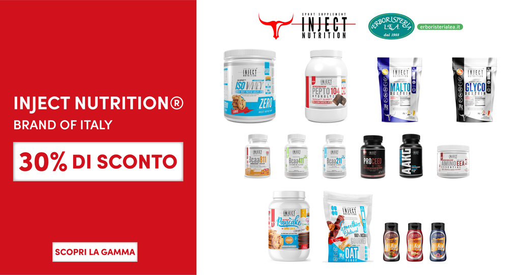 INJECT NUTRITION® Sconti