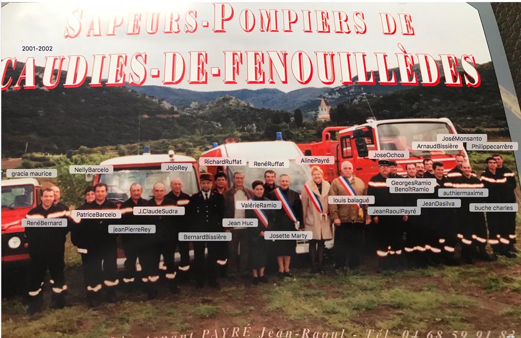 Pompiers 1991- 1992