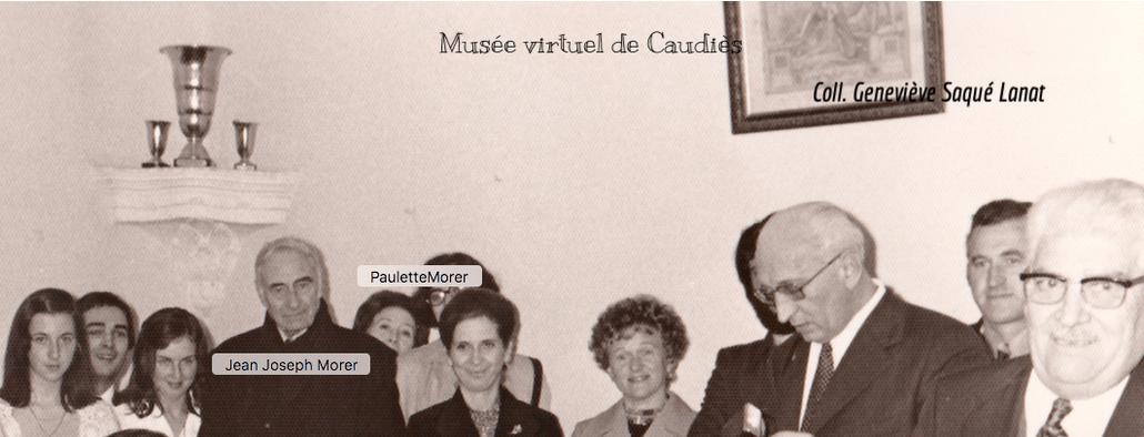 En Novembre 1973, à la Mairie, lors d'une cérémonie famille.