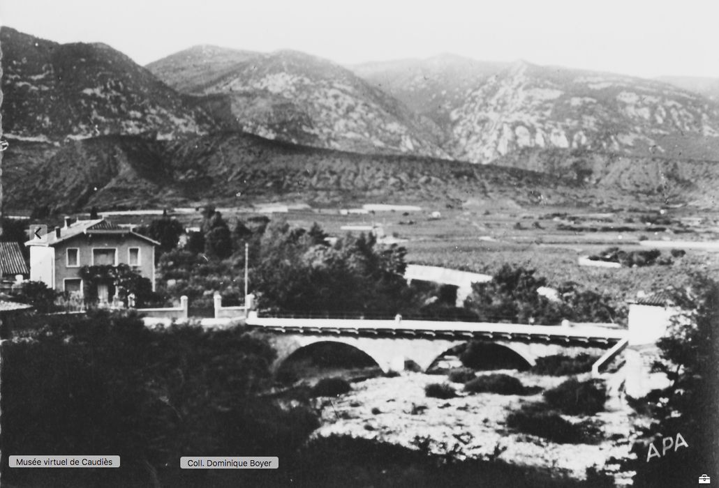 """""""La Grave"""" au pont de la Garigue"""