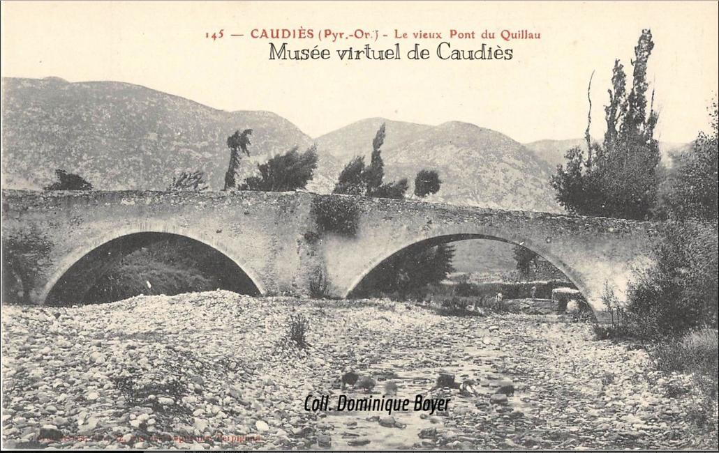 Pont de la Garrigue (erreur de l'éditeur concernant le om)
