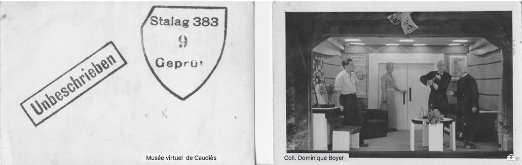 """Juillet 1943: Interprêtes du """"Fauteuil 47"""""""