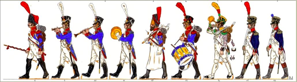 Musiciens du 12e Régiment de Ligne