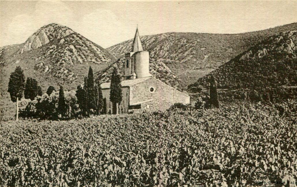 Vignes autour de Notre-Dame de La Val