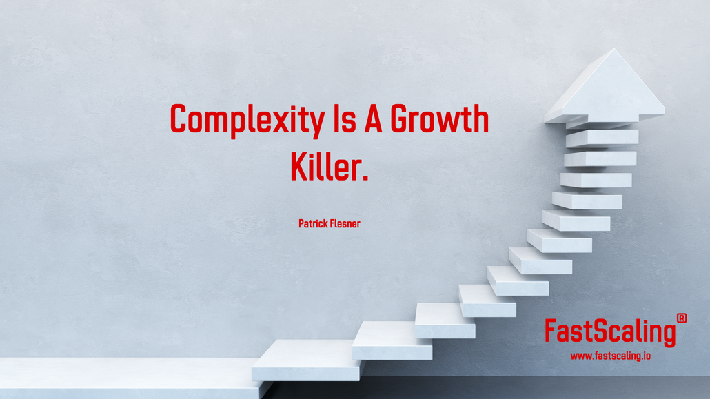 Complexity is a growth killer Quote