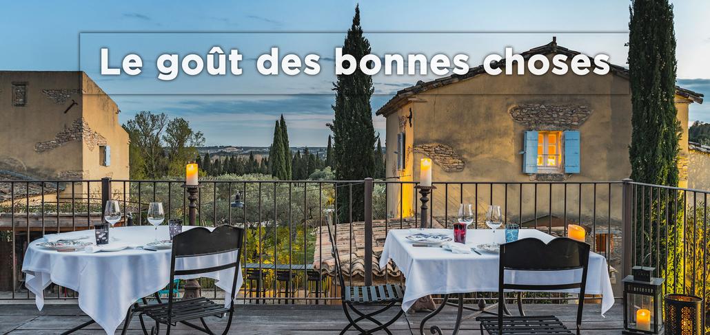 Cicada, la Table du Hameau, restaurant étoilée au cœur du Parc Naturel Régional des Alpilles