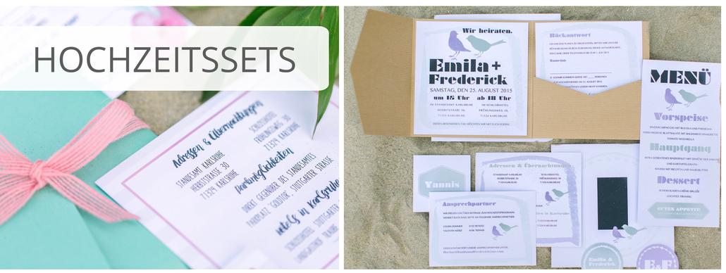 Pocketfold-Einadung, Juhu Papeterie, Hochzeitseinladung, Hochzeitsset