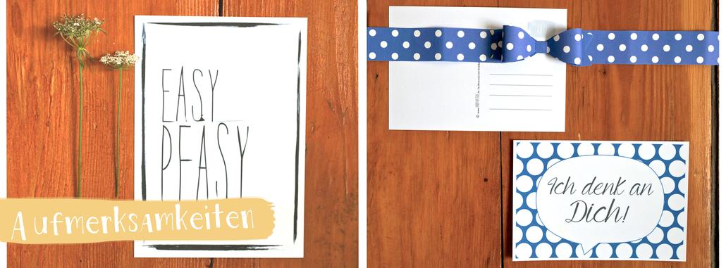 Postkarten, Grußkarten, Juhu Papeterie, Papeterie, modern, gepunktet, Aufmerksamkeiten, Klappkarte, individualiserbar, individuell, personalisierbar,