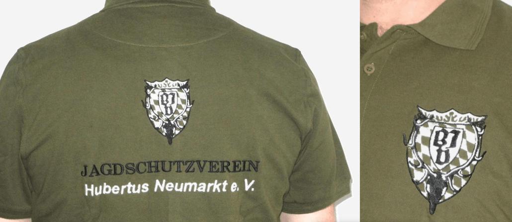 Die erste Generation Vereinspoloshirts (09/2013). Lediglich in einer Kleinserie (15 Stück) produziert.