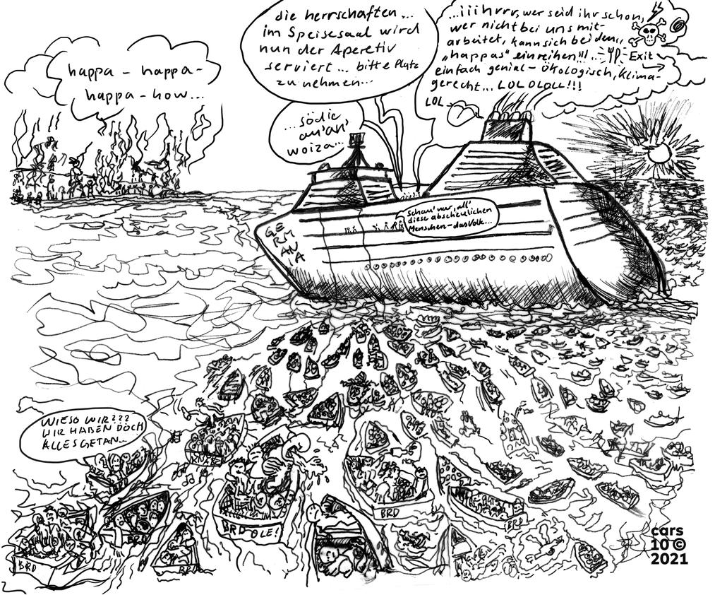 © 2021, carsten deák, boat people