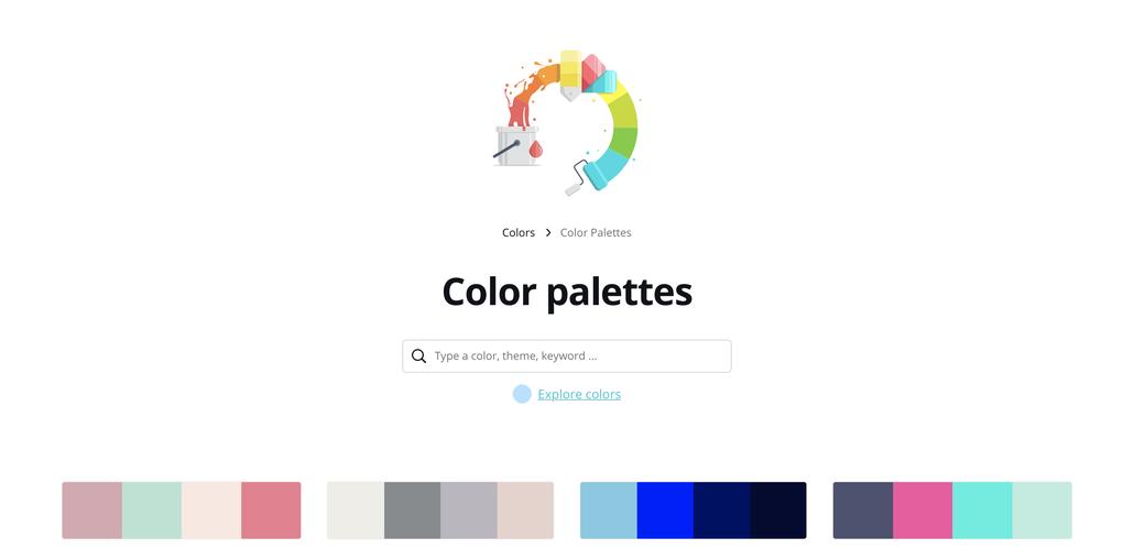 trouver une palette de couleurs harmonieuse pour son site Internet