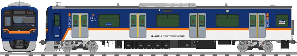 太陽電気鉄道C1600系電車