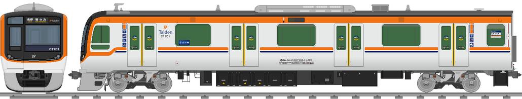 太陽電気鉄道C1700系電車