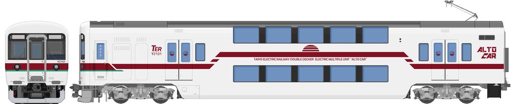 太陽電気鉄道Y2100系電車