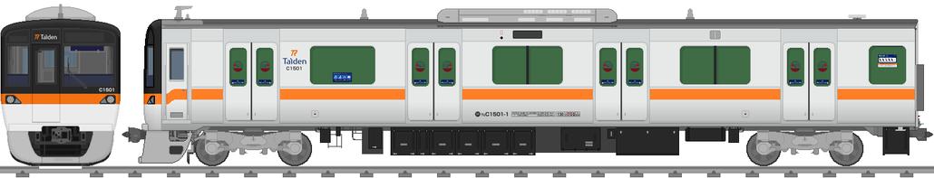 太陽電気鉄道C1500系電車(ステンレス車)