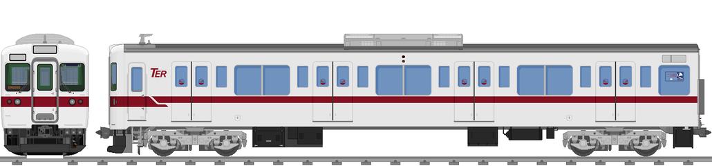 太陽電気鉄道C1200系電車(普通鋼車)